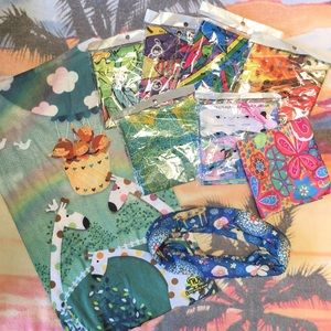 Accessories - Assorted Buff Headband Lot Multi Functional Color